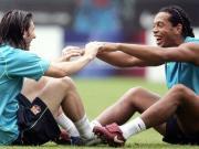 梅西致敬小罗:足球永远不会忘记你的微笑