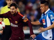 比赛集锦:西班牙人 1-0 巴塞罗那