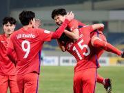 比赛集锦:韩国U23 2-1 马来西亚U23