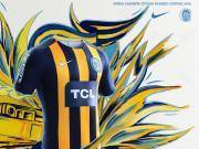 罗萨里奥中央2018赛季主客场球衣发布,中国企业成赞助商