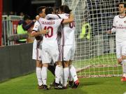 比赛集锦:卡利亚里 1-2 AC米兰