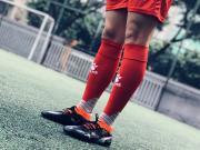 原创摄影:用心的足球袜应该是这样子