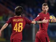 比赛集锦:桑普多利亚 1-1 罗马