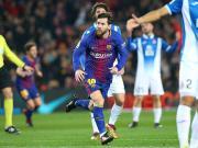 比赛集锦:巴塞罗那 2-0 西班牙人