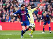 比赛集锦:巴塞罗那 0-0 赫塔费