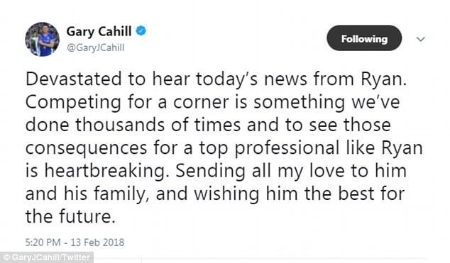 卡希尔:梅森的退役让人心碎