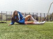 女球迷采访:曾当选最美足球宝贝的皇马球迷盛楠