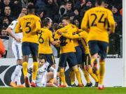 比赛集锦:哥本哈根 1-4 马德里竞技