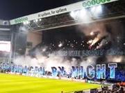 虽然比赛结果稍显尴尬,不过哥本哈根球迷的烟火可是玩嗨了