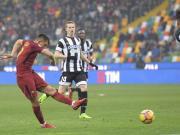 比赛集锦:乌迪内斯 0-2 罗马