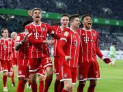 比赛集锦:沃尔夫斯堡 1-2 拜仁慕尼黑