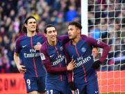 比赛集锦:巴黎圣日耳曼 5-2 斯特拉斯堡