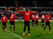 比赛集锦:哈德斯菲尔德 0-2 曼联