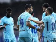 比赛集锦:埃瓦尔 0-2 巴塞罗那