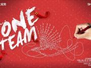 上港战墨尔本海报:ONE TEAM