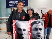 图集:恒大众将士抵达日本,卡纳瓦罗深受球迷欢迎