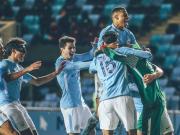 恭喜我城U19队晋级青年欧冠8强!
