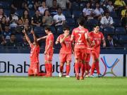 比赛集锦:武里南联 0-2 济州联