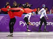 不说足球:平昌冬奥会中国首金!武大靖短道500米夺冠