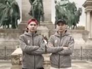这两个说东北话的华裔兄弟拿下金牌,改写匈牙利冬奥会历史