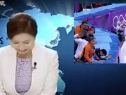 这恶搞我给满分!韩国主播看完自己国家的冬奥会可乐坏了