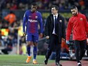巴萨官方:塞梅多伤缺五周左右