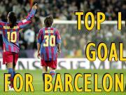 巴萨队史10大经典进球: 大罗、小罗、罗马里奥、梅西