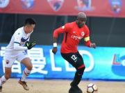 比赛集锦:辽宁沈阳宏运 0-1 深圳佳兆业