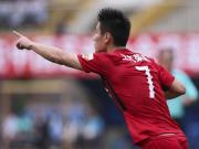 比赛集锦:广州富力 2-5 上海上港