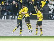比赛集锦:多特蒙德 1-0 汉诺威96