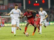 比赛集锦:梅州客家 1-0 延边富德