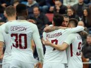 比赛集锦:克罗托内 0-2 罗马