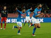 比赛集锦:那不勒斯 1-0 热那亚
