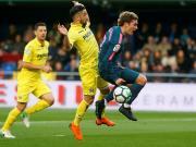 比赛集锦:比利亚雷亚尔 2-1 马德里竞技