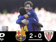 英文集锦:巴萨2-0毕巴竞技,登贝莱助攻、梅西连场破门