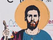 顶礼膜拜!巴塞罗那市中心出现梅西新涂鸦壁画,真是惟妙惟肖