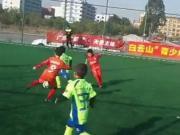 徐浩晋,广州足球的又一发现,8岁这水平很不错