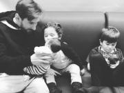 父亲节快乐,安东内拉在社交媒体上晒图并祝福梅西
