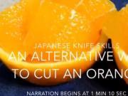 超实用的切橙子方法,也可以叫做橙碗,学会露一手吧!
