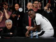 穆里尼奥友谊赛采访字幕:第一次看博尔特踢球,他的爆发惊人