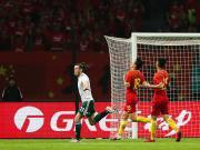 国足0-6惨败威尔士,贝尔戴帽成威尔士射手王,于汉超中柱