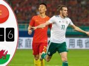 (英文集锦)中国杯中国0-6威尔士:贝尔戴帽、于汉超中柱