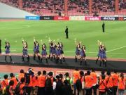 泰国足大喜娱乐城发展有妙招?偶像女团现场助威,又唱又跳舞动全场