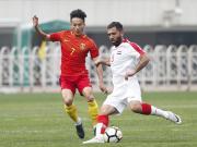 大喜娱乐官网集锦:U23国足 1-1 叙利亚U23
