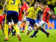 大喜娱乐官网集锦:瑞典 1-2 智利