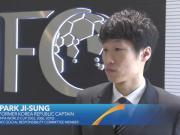 世界杯临近,朴智星为亚洲加油