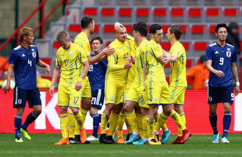 卡列洪日本1-2乌克兰