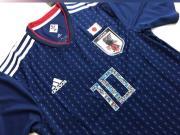 童年,日本推出足球小将版球衣
