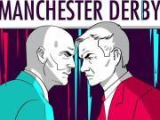 曼市德比超级预热大片来袭!曼彻斯特将会属于红色还是蓝色?