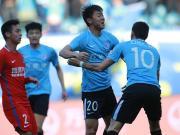 半场战报:一方1-0重庆